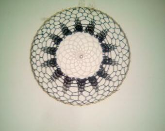 Lapač snů  -  krajka s kruhem