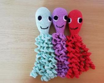 Háčkovaná chobotnička bavlna