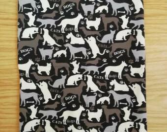 Šitý nákrčník - pro milovníky pejsků a kočiček