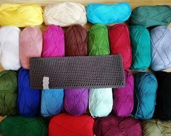 Háčkovaná čelenka bavlna
