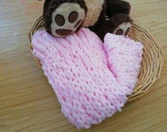 Měkká pletená deka barva na přání