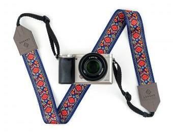 Popruh na fotoaparát - Folk
