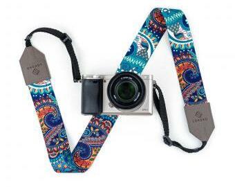 Popruh na fotoaparát - Blue dream