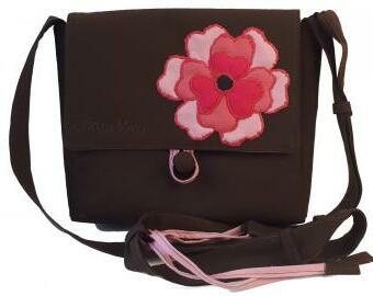 Látková kabelka podzimní růže
