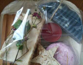 Mýdlový balíček - vánoce