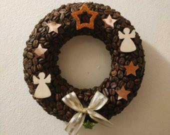 Vánoční věnec na dveře/stěnu