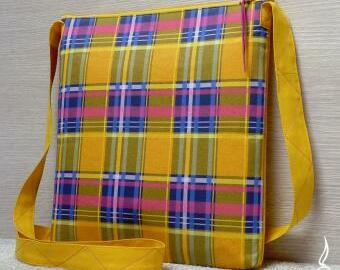 Crossbody kabelka - kostkovaná
