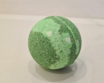 Šumivá bomba do koupele - Zelené jablko