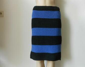 Dámská pletená sukně 60% merino