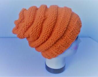 Teplá čepice 80% vlna superwash