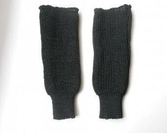 Pletené návleky na ruce s vlnou