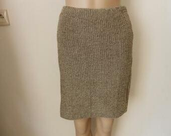 Dámská pletená sukně s dárkem