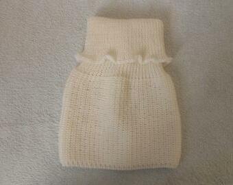 Dětský, dámský pletený nákrčník merino