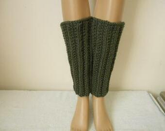 Vlněné návleky na nohy