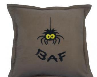 Polštář s pavoukem BAF (40x40 cm)
