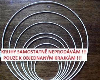 Kovový kruh 60 -62 cm - základ na výrobu lapače snů