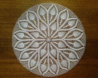 Krajka do lapače snů - 50 cm (bílá)