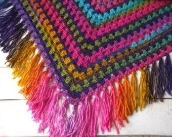 S duhou v zádech - šátek