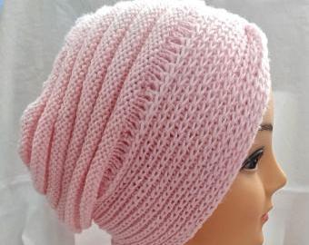 Dámská čepice pletená
