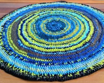 Kulatý kobereček 81 cm