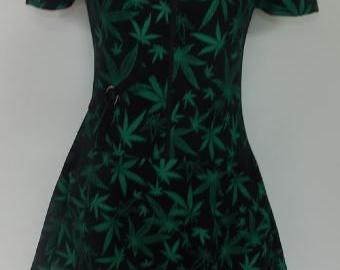 Šaty zelené