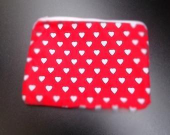 Srdeční záležitost - kosmetická taštička