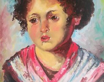 Portrét dívenky
