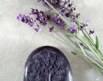Levandulové mýdlo ovál