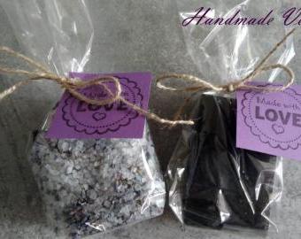 Dárková sada levadulové mýdlo a vonná sůl