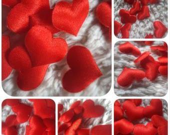 Srdce mini červené